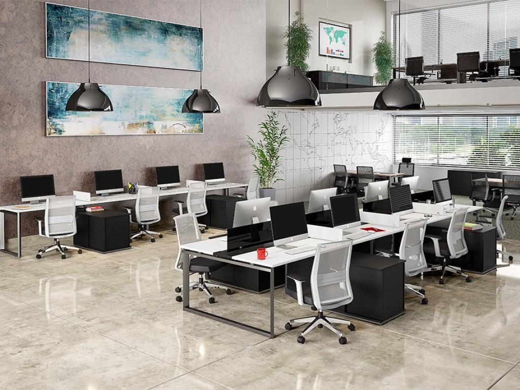 Office design mobiliario corporativo for By h mobiliario